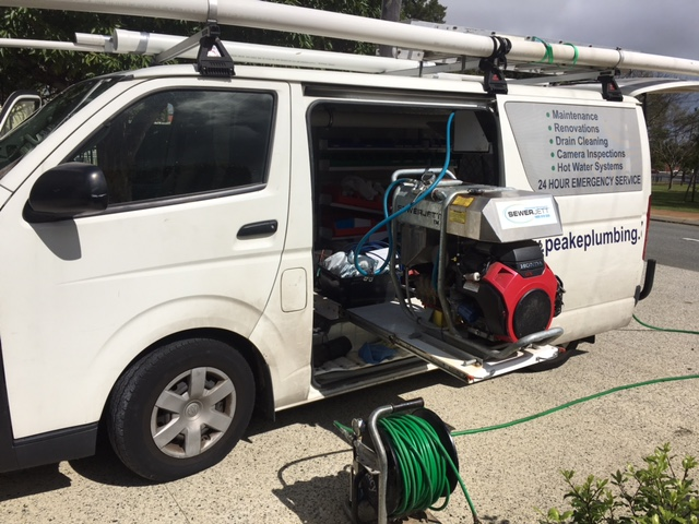 High Pressure Jetter for Unblocking Drains